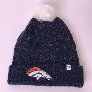 47 Brand NFL Licensed Women's Broncos Winter Hat